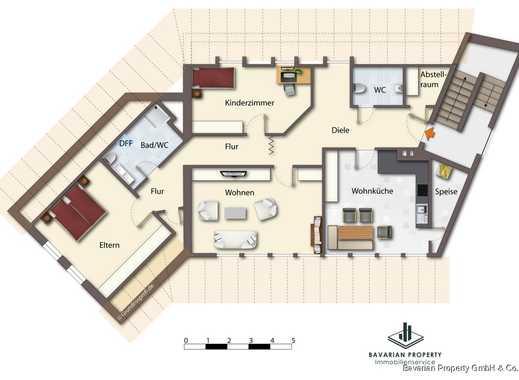 wohnungen wohnungssuche in kirchroth straubing bogen kreis. Black Bedroom Furniture Sets. Home Design Ideas