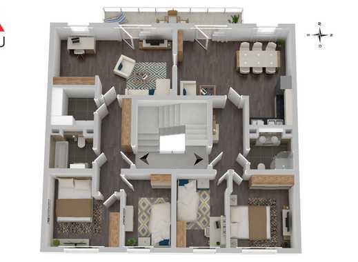 Viel Raum für die Familie!  6-Zimmer zum fairen Preis