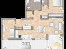 Haus C Penthaus 3 Zimmer