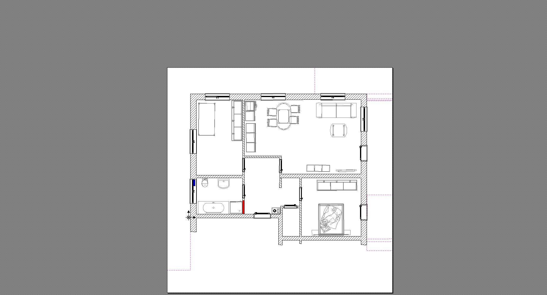 Laufen, 3 Zimmer Wohnung 1 OG mit Balkon