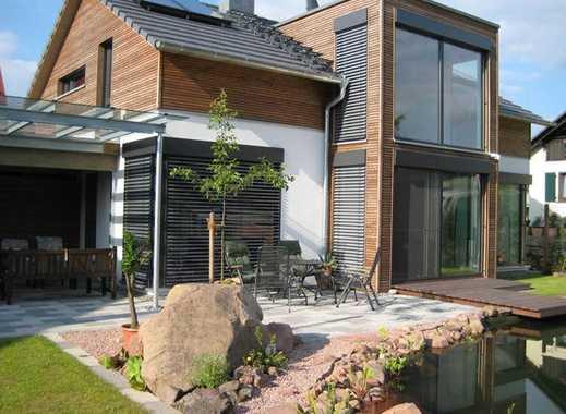 Duisburg Alt - Homberg: modernes Einfamilienhaus ( freistehend ) in ruhiger Grünlage
