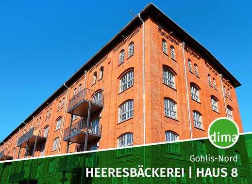 ERSTBEZUG   Heeresbäckerei   Haus 8   Fehmarnstr. 13-15-17   Gartenanteil   Balkon   Duschbad