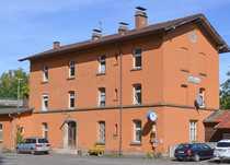 Wohnung in altem Bahnhof zu