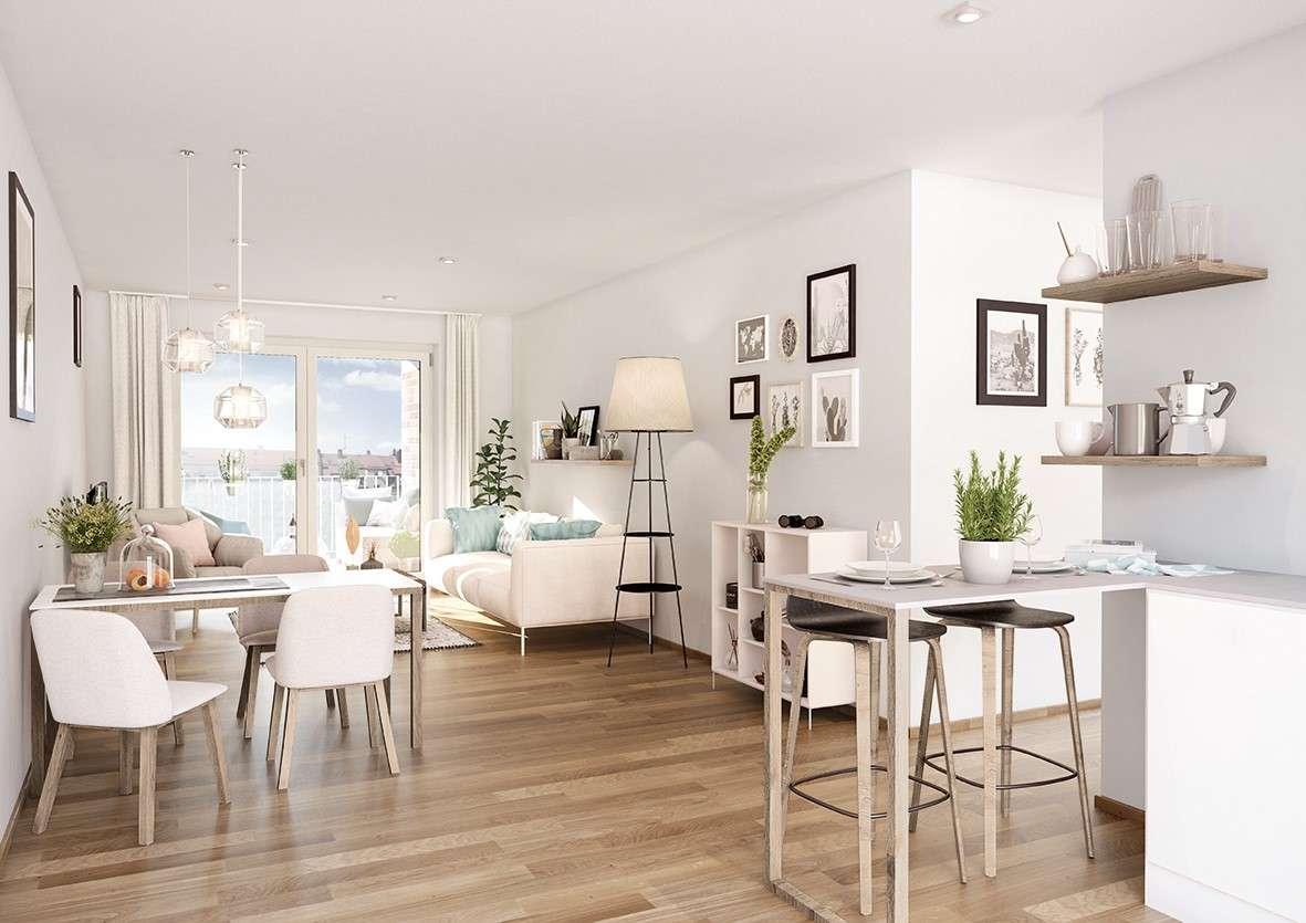 Erstbezug mit Balkon: exklusive, günstig gelegene 2-Zimmer-Wohnung in Nürnberg in