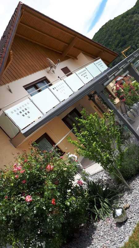 Wohnen in Idyill,ruhige sonnige3-Zimmer Wohnung mit 2 Balkone in ZFH zur Miete in Riedenburg in Riedenburg