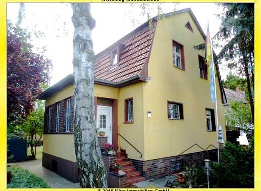 Wittenau! Solides Siedlungshaus (Baujahr 1934) mit Modernisierungspotenzial auf sonnigem Grundstück