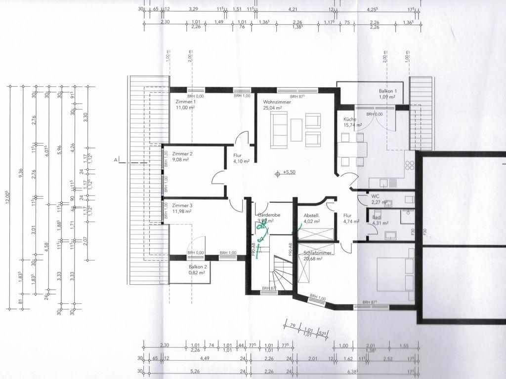 Makler Lohmar gepflegte und ruhige 5 zimmer dachgeschosswohnung mit balkonen in