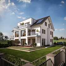 Neubauprojekt - Große DHH in Neubiberg -