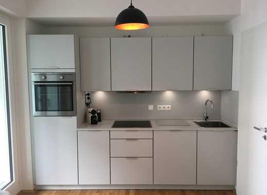 Projektwohnung: Modern möblierte 1-Zimmerwohnung direkt am Olympiapark/U3 (inkl. NK)