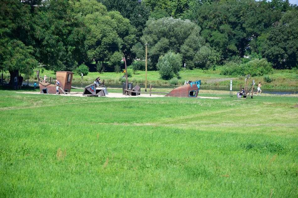 Spielplatz Nähe Fährgarten