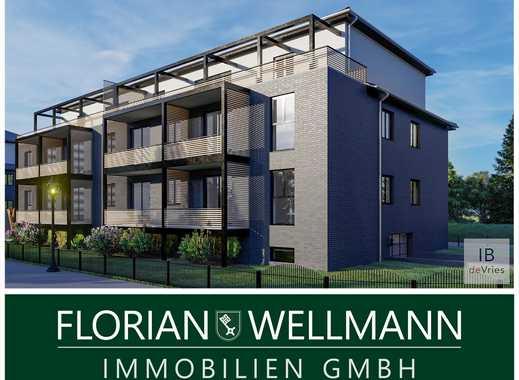 Bremen - Burg-Grambke   3-Zimmer-Etagenwohnung mit Balkon im 1. Obergeschoss