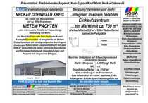 Bild Neckar-Odenwald-Kreis - Kapitalanlage Markt 750 m² integriert in Einkaufszentrum/ gute Verkehrslage
