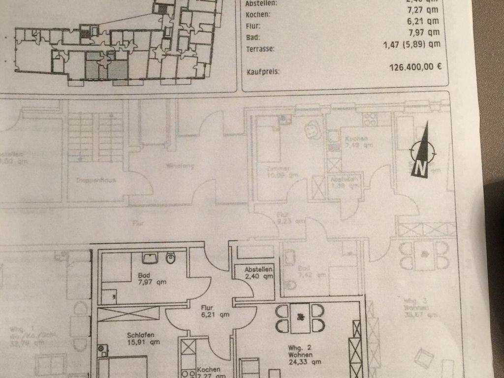 sch ne 2 5 zimmer seniorenwohnung am stadtpark in zeven. Black Bedroom Furniture Sets. Home Design Ideas