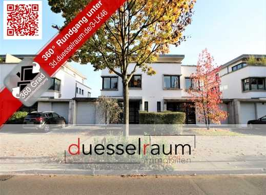 Kaiserswerth: Moderne Niedrigenergie-Doppelhaushälfte mit Garage und Garten in exklusiver Lage