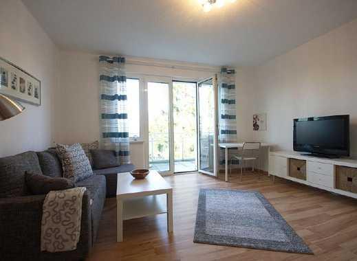 Freundliche, gemütliche Wohnung mit Balkon, im Erdgeschoss in guter Umgebung, Gartennutzung möglich