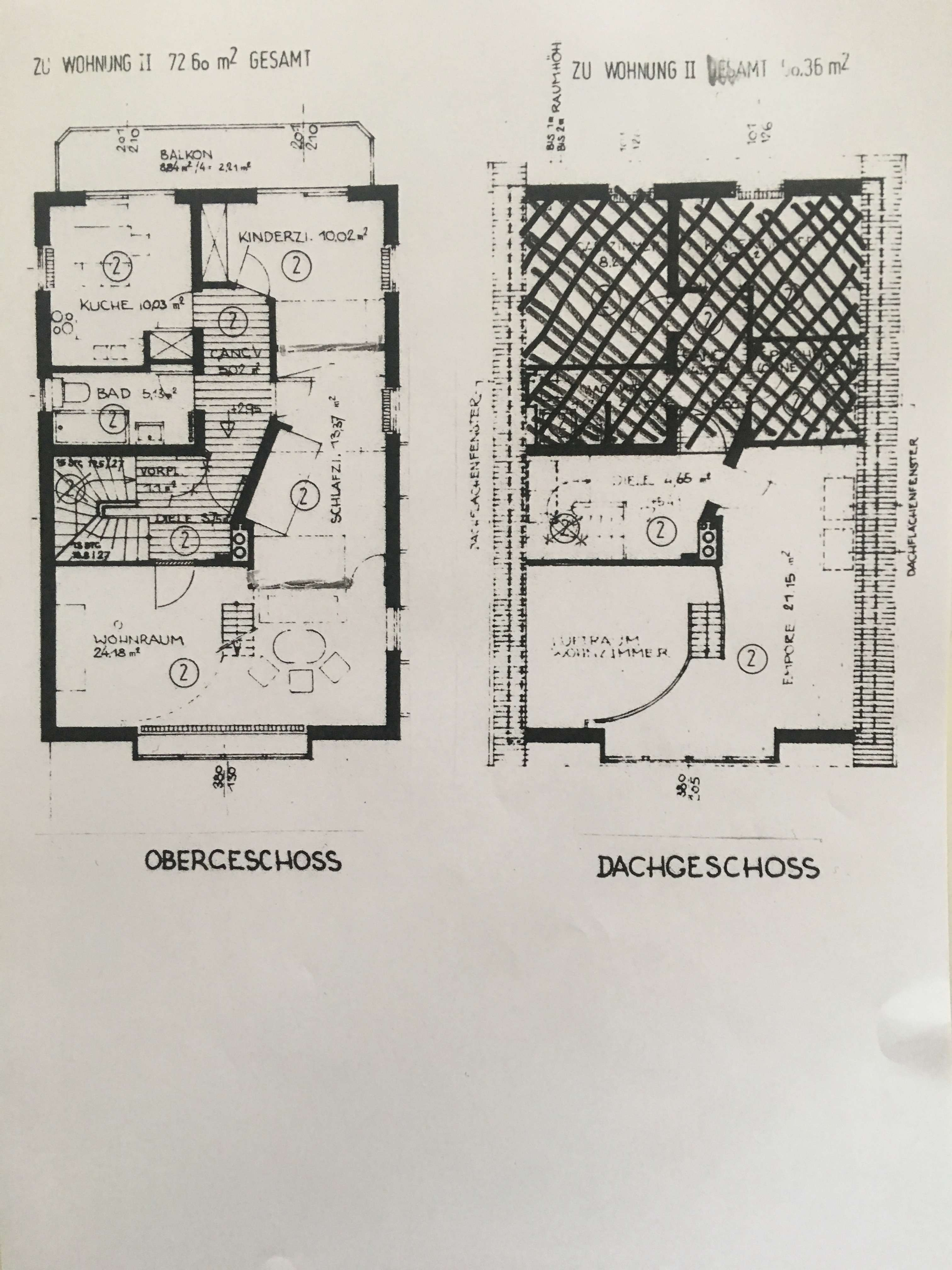 Hell und im Loft-Stil: 2-Zimmer-Wohnung mit Balkon in München-Schwabing