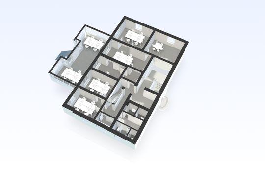 Grundriss EG 3D