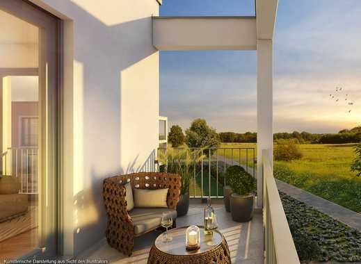 Ideal geschnittene 3-Zimmer-Etagenwohnung mit geschützter Loggia und großem Wohn-Ess-Koch-Bereich