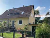 IMMOBERLIN Sehr attraktive Doppelhaushälfte in