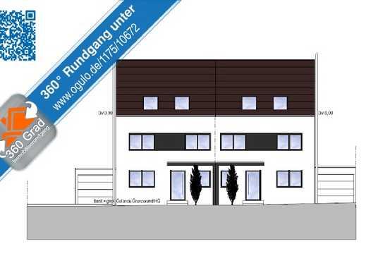Moderne Neubau-Doppelhaushälfte mit viel Platz für Ihre Familie!