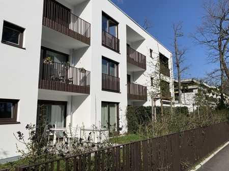 Exklusive 2 Zi.-Wohnung mit Süd-Balkon (Neubau) Nähe Nymphenburger Park in Obermenzing (München)