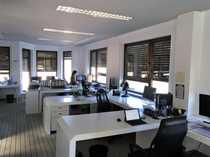 loftartiges Büro mit grosser Terrasse