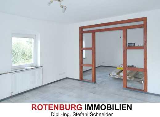 Sanierte Wohnung in ruhiger Wohnlage von Rotenburg-Braach