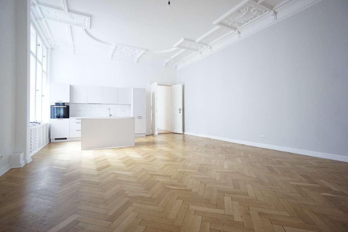 Zimmer 3 mit offener Küche