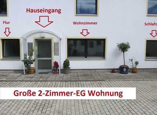 !!MAXIMAL 2 Personen!! Große, helle, sanierte 2-Zimmer EG Wohnung in München Feldmoching