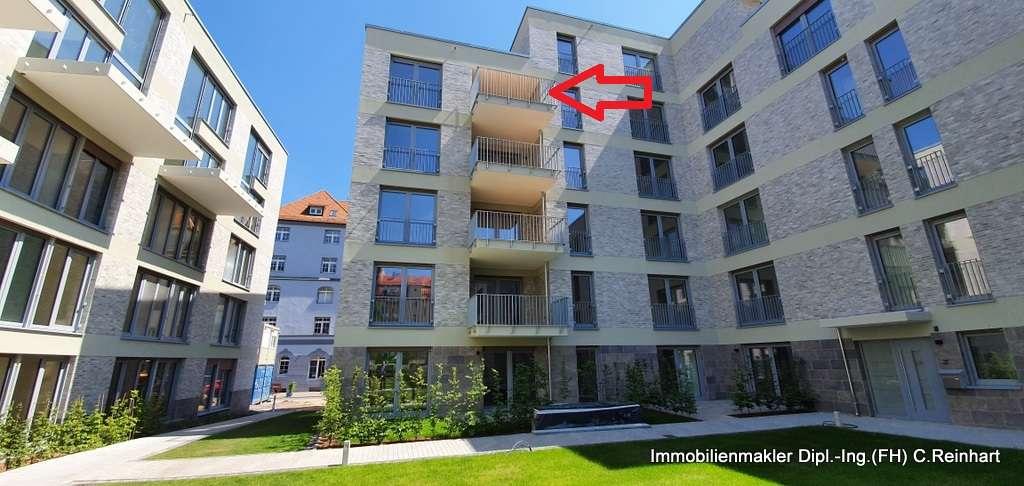 4 Zi. Neubau Wohnung in Nürnberg Eberhardshof in