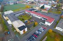 Lager- Produktions- und Büroräume ab
