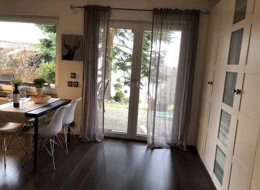 Toplage in Weinheim, 2 Zimmer Appartement mit Sauna und großer Gartenterrasse