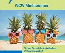 WCW-MIETSOMMER 1-Raumwohnung für Singles