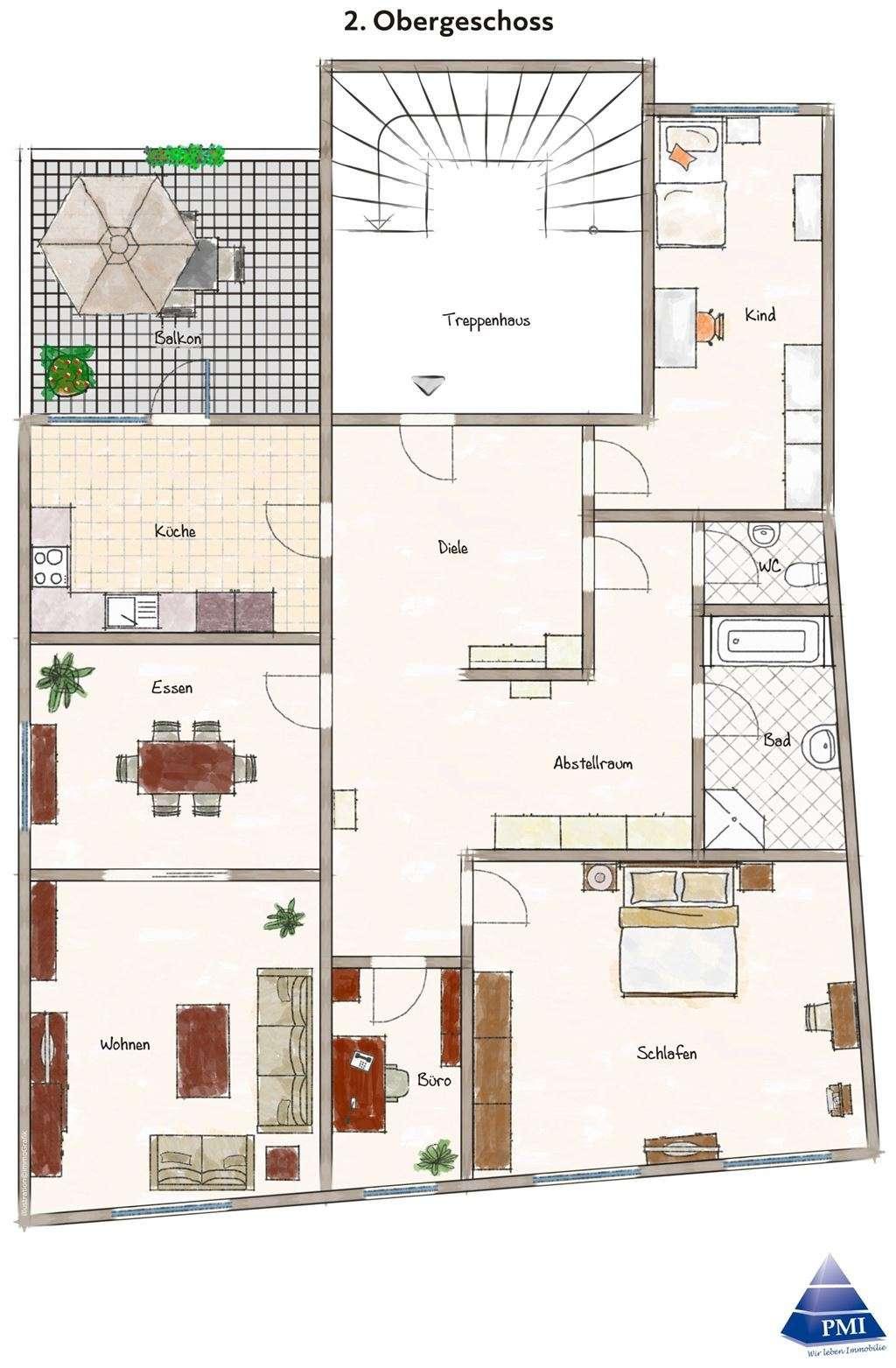 ++NEU: 4,5Zi.-Mietwohnung mitten in Lohr, perfekt für kleine Familien, gr. Balkon++ in