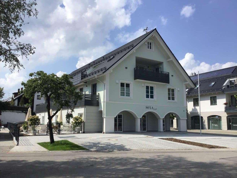 Exklusive 3-Zimmer-Wohnung in neuem Wohn- und Geschäftshaus in Ismaning in Ismaning
