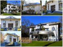 schöne Dachgeschosswohnung in Stadtvilla mit