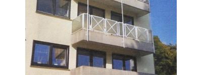 Zentral Stadt/ Kurpark Bad Oeynhausen. Modern sanierte 3-Zi-Wohnung, Aufzug, Stellplatz, 2 Balkone