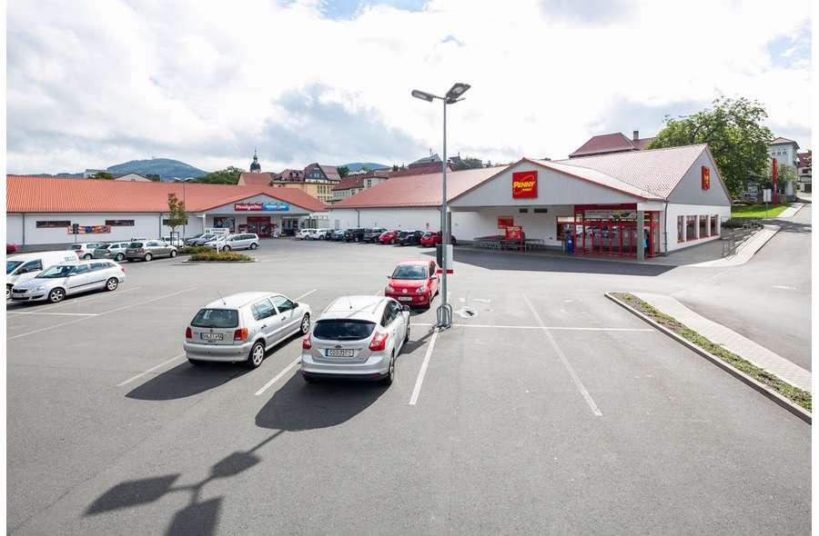 Ansicht Fachmarktzentrum