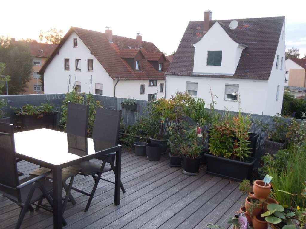 GalerieWohnung m. Dachterrasse – 2,5 Zimmer, ruhig, verkehrsgünstig, Tageslichtbad, TG + Stellpl. in Südost (Ingolstadt)