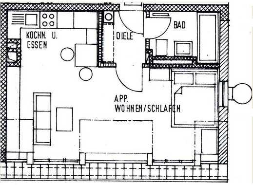 1-Zimmer-Wohnung Altstadt-Nähe
