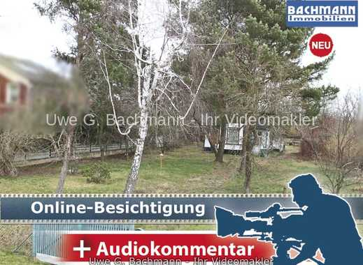 Bernau bei Berlin OT Eichwerder: Wohnbaugrundstück mit viel Platz für die Familie - UWE G. BACHMANN