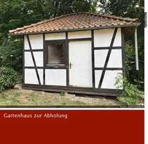 Handwerker aufgepasst Fachwerk-Gartenhaus zu verkaufen