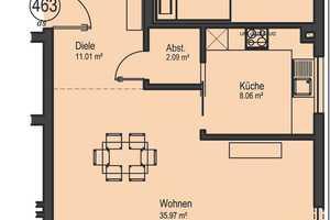 3 Zimmer Wohnung in Main-Tauber-Kreis