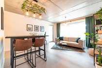 Helle 3-Zimmer-Wohnung mit Panoramafenstern durchdachtem