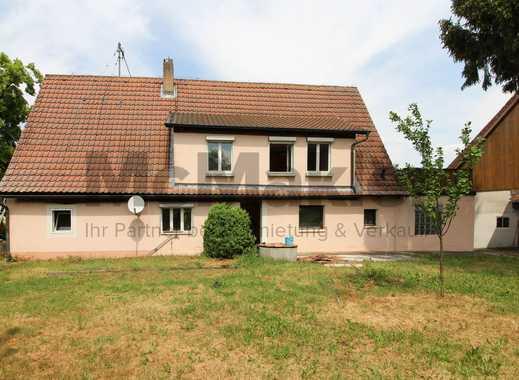Raus aufs Land! Saniertes Bauernhaus mit Werkstatt, Nebengelassen und Obstgarten in Oberscheinfeld