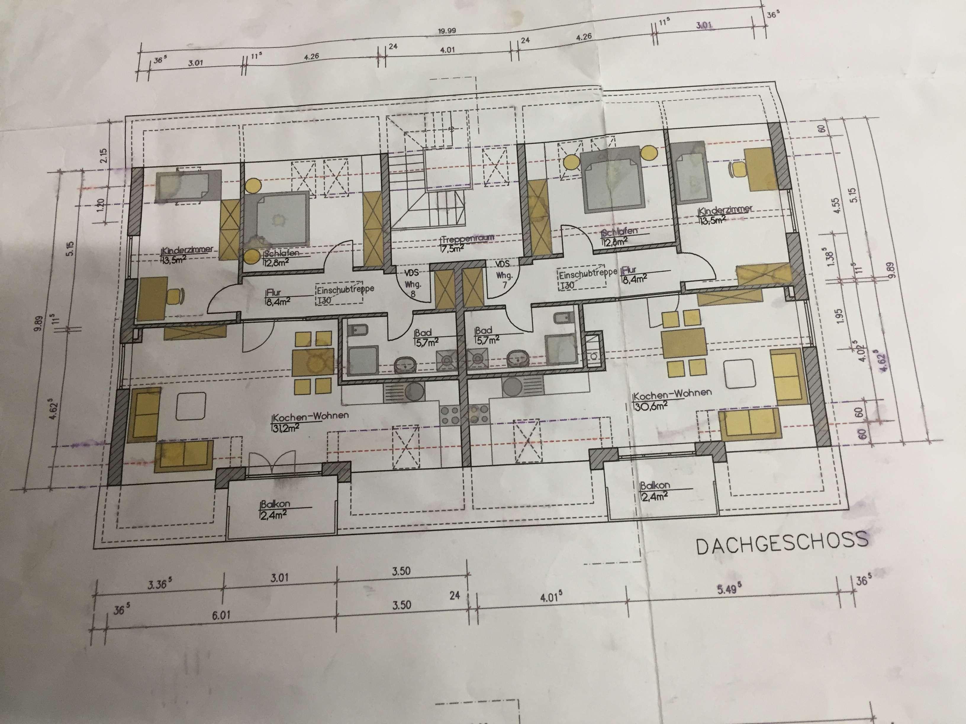 Edle Atelierwohnung mit Maisonette, Süd-Westlage, Neubau