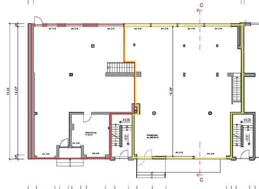 """Ladenfläche mit Kellerfläche und Tresorraum direkt an der Hauptstraße """"Bramfelder Chaussee 250"""""""