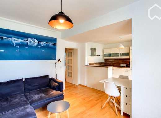 Design möblierte 2,5 Zimmer, 2.OG, Aufzug, Balkon, S-Bahnen, Yorckstr. ruhig, Stellplatz möglich