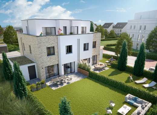 Exklusive Doppelhaushälfte auf 176 m² Wohnfläche + Keller und Garage