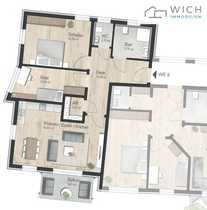 Traumhafte Neubau-Penthouse-Wohnung über den Dächern